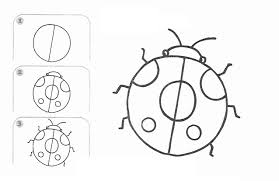 kids learn to draw insects teaching kids drawing free printable