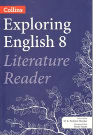 collins exploring english literature reader for class 8 by dr k