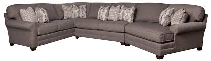King Hickory Sofas by Biltmore Mcgraw 3 Piece Sectional Morris Home Sofa Sectional