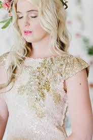 soft pink and gold wedding dress inspiration debbie lourens