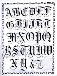 gothic letters english style english and fonts
