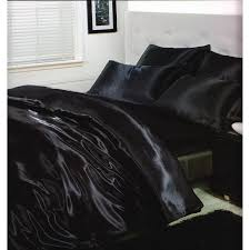 drap en satin de coton ensemble de literie en satin parure de lit et drap housse lit