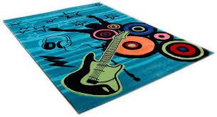 teppich für jugendzimmer kinderteppich freude zur musik theko rechteckig höhe 14 mm