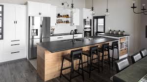 modern wood slab kitchen cabinets our work custom cabinetry highcraft cabinets ferndale wa