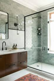 bathroom fixture ideas smoke glass subway tile grey bathrooms modern shower and slate