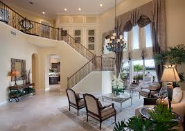 two story living room architecture two story luxury interior home plan with u shape