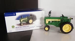siege deere dept 56 1958 deere 730 diesel tractor euc in box