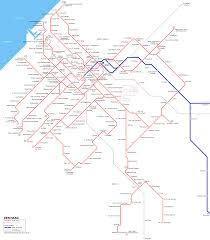 Europe Train Map by Urbanrail Net U003e Europe U003e Netherlands U003e Den Haag Tram U0026 Randstadrail