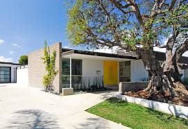 mid century modern landscaping exterior midcentury with modern