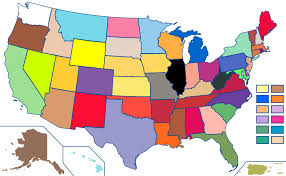 Map Of United States With State Names by Alternative Names Of Crayola Crayons Wikipedia
