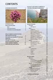 field guide to the wild flowers of the western mediterranean kew