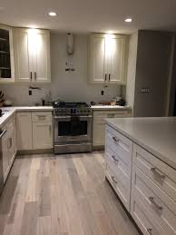 kitchen after milky white shaker cabinet frigidaire professional