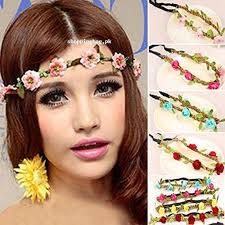 floral headband hippie garland floral headband crown price in pakistan