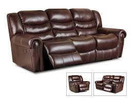Leather Club Chair For Sale Italian Leather Softie Oxblood Glider Reclining Sofa And Loveseat