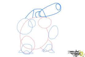 how to draw mega blastoise from pokemon x u0026 y drawingnow