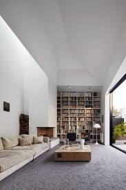 modern contemporary home library with amazing interior design