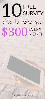 Money Making Online Surveys - best 25 surveys for money ideas on pinterest surveys to make