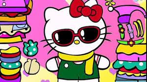 kitty beauty salon cartoon games game