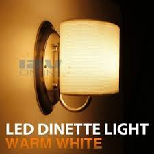12v light fixture interior 12v led white fabric shade wall sconce rv auto boat porch hall