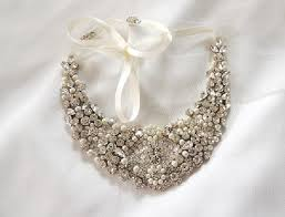 pearl bib statement necklace images Statement bib crystal statement rhinestone and pearls necklace jpg