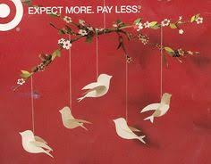Hanging Paper Bird Decorations Diy Mobile Branch Flowers Leaves Birds Baby U0027s Room Pinterest