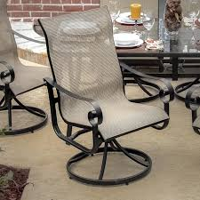 Swivel Rocking Chairs For Patio Fashionable Inspiration Outdoor Swivel Dining Chairs Outdoor