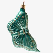 beautiful handmade glass bauble butterfly tree