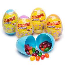 easter egg gum starburst jelly beans filled plastic easter eggs 12 display