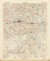 Map Of Atlanta Ga Georgia Historical Topographic Maps Perry Castañeda Map