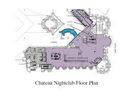 nightclub floor plan private parties chateau nightclub and rooftop las vegas