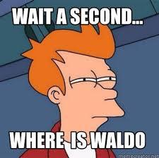 Waldo Meme - meme creator wait a second where is waldo meme generator at