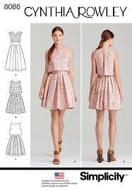 dress pattern 28 images simplicity 1715 misses miss dress new