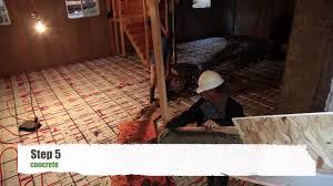 plastispan hd hydronic insulation for radiant floor heating