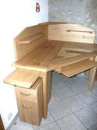 bureau d angle en bois bureau d angle bois table metal industriel best dangle sur en blanc