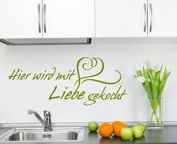 küche wandtattoo wandtattoos küche dekor liebe kochen arslinea