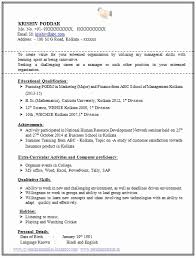 sample resume for mba marketing experience resume format for mba experienced best resume formats 47 free
