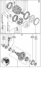 dpo al4 комплекты фрикционов запасные части на акпп прокладки
