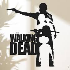 aliexpress com buy walking dead wall art decals vinyl moive