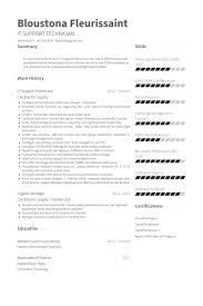 desktop support resume it support resume resume templates