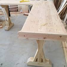 Diy Wood Desk Diy L Shaped Farmhouse Wood Desk Office Makeover Hometalk