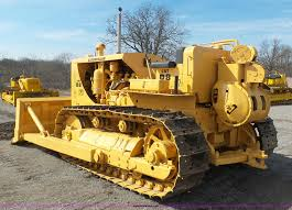 1953 caterpillar d8 dozer item l3196 sold april 21 jim
