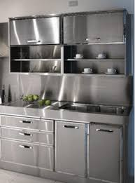 Metal Cabinets For Kitchen 30 Metal Kitchen Cabinets Ideas Style Photos Remodel And Decor