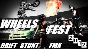 video freestyle motocross wheels fest 2012 drift stunt freestyle motocross u0026 girls