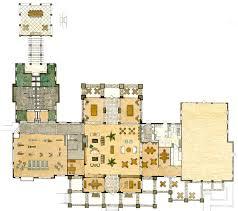 1 watercolor rendered floor plan ed cox interiors genesis