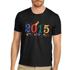 new year t shirts men s 2015 happy new year party crewneck t shirt ebay