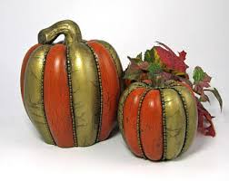 ceramic pumpkins ceramic pumpkin etsy