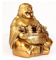scy 329 maitreya zhaocai copper ornaments like big belly