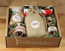 colorado gift baskets blueberry lemon scones and a colorado gift box giveaway creative
