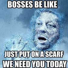 Bosses Be Like Meme - bosses be like hilarious meme goes viral after snow day closes