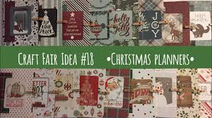 craft fair idea 18 christmas planners use up entire paper